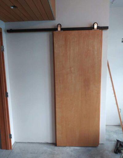 Custom Barn doors closet