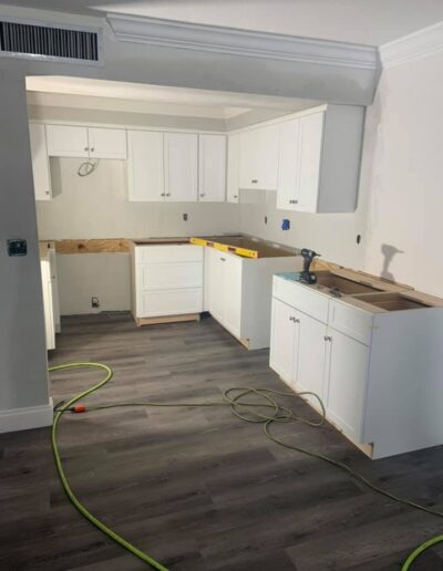 Kitchen cabints installation 1