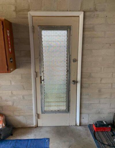Side door inside before